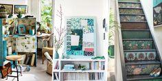 25 DIY à faire avec du papier peint