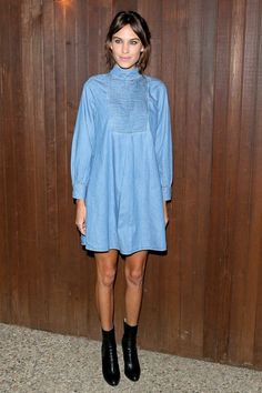 Proof That Alexa Chung Is The Queen Of Denim | The Zoe Report