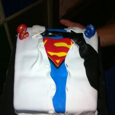 Superman Fan Birthday Cake... Had this made for my husbands 29th birthday! He loved it!