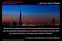 WE see you soon in Dubai !! ♥
