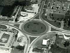 Beaumont Traffic Circle from Beaumont Texas HistoryBits