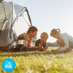 S'mores, Please: Camping Gear for the Whole Crew. #LittleRue