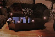 Coffin Coffee Table   (idc how horrible you think this is, i love it)                                                                                                                                                     More