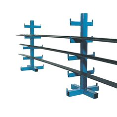Heavy Duty Bar Rack: Space between arms is Single or double racks are available. Floor fixing facility for stability. Load Capacity per arm: Steel Storage Rack, Steel Racks, Welding Shop, Diy Welding, Cantilever Racks, Welded Metal Projects, Bar Rack, Pipe Rack, Steel Fabrication