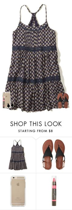"""""""Idk what to title this..."""" by texasgirlfashion ❤ liked on Polyvore featuring Hollister Co., Aéropostale, Burt's Bees and Kendra Scott"""