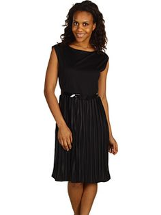 Jones New York Collection Petite - Petite Gramercy Park Pleated Dress