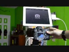 This is a quick video about ''How to connect your camera to your iPad''. Things you will need for this: -Connection kit for your iPad. http://www.ebay.com/it...