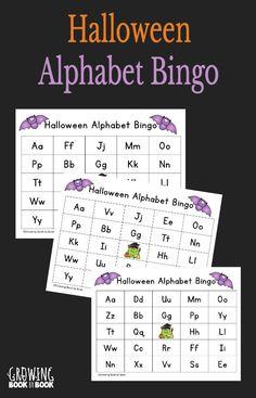 Halloween Alphabet B
