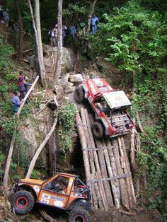 Jeeps can CLIMB.