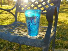 cold drinks at sunset