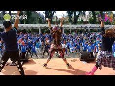"Maniac | Zumba® | Zin 61 | Warm Up "" Liza Natalia Official Brand Ambassador Zumba® Indonesia - YouTube"