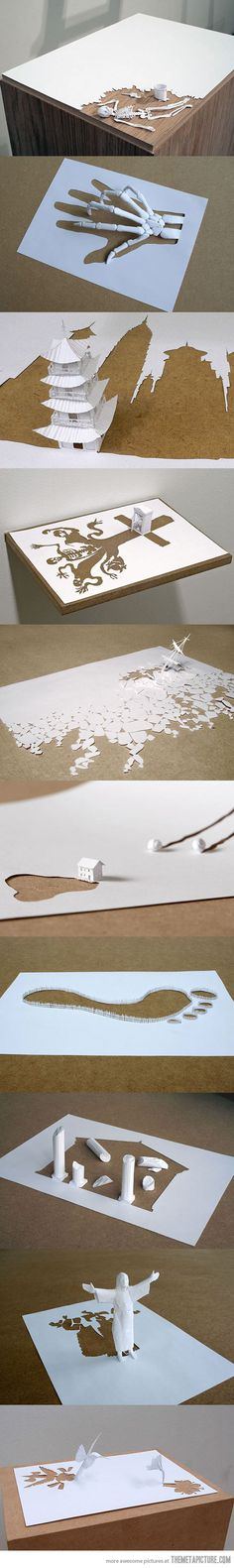 Amazing paper art by Peter Callesen…