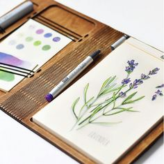 Such beautiful drawing in A5 skethbook by DRVSK goods. Thanks Anna Rastargueva for!