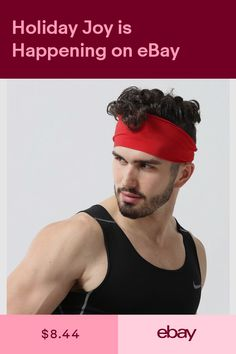 Mens Headband - Guys Sweatband   Sports Headband for Running 7399139ece9