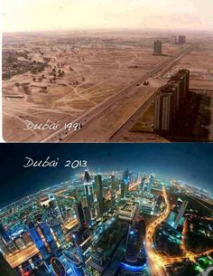 Dubai .. Then and now!