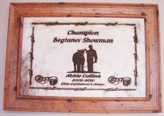 $50.00 8*10 Signature Signs :: Awards :: Jewelry    LOVE THIS!