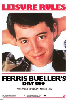 Come join us for good food, beverages, friends and Ferris Bueller. Yep, I said Ferris Bueller. 80s Movie Posters, 80s Movies, Great Movies, Movies To Watch, 1980s Films, Childhood Movies, Awesome Movies, Popular Movies, Latest Movies
