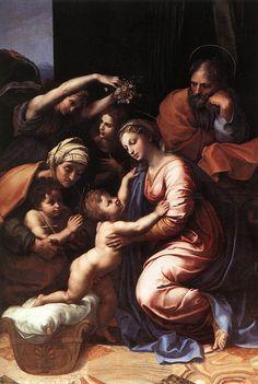 La Sainte famille, par Raphaël