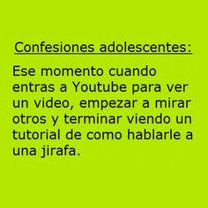 Adolescentes y YouTube. #humor #risa #graciosas #chistosas #divertidas