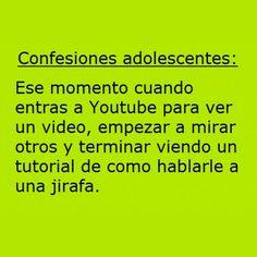 Adolescentes y YouTube. #humor #risa #graciosas #chistosas #divertidas