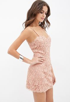 Cutout Lace Cami Dress | Forever 21 - 2000120317