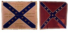 Picketts battle flags | : The 8th Virginia Infantry: This 8th Virginia flag includes battle ...