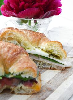 Chicken Pesto Provolone Sandwich - I would replace the chicken sandwich meat with actual chicken breast pieces instead