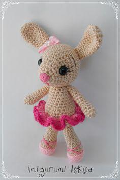 Amigurumi Küçük Balerin Tavşan - Amigurumi Aşkına-Shop