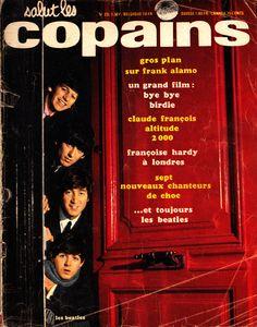 Salut les Copains,  March.1964 ~ The Beatles