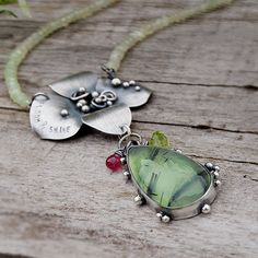 Bloom & Shine Necklace  Sterling Metalsmithed by LilyBlonde