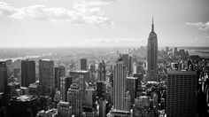 New York City Black And White wallpaper : new york,skyline,black and white - New York City wallpapers and pictures for your desktop Nyc Skyline, New York City Skyline, Skyline Image, Manhattan Skyline, Manhattan Nyc, New York Wallpaper, City Wallpaper, Mobile Wallpaper, New York