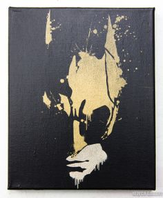 A pretty awesome Batman painting that I would adore in my room <3