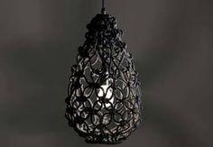 Afbeeldingsresultaat voor macrame lampshade patterns