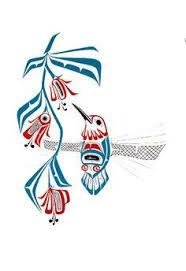 haida hummingbird tattoo like it a lot!