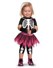 punkie bones skeleton toddler costume