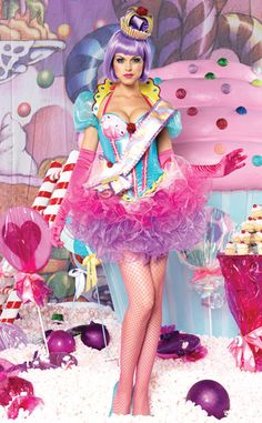 I wanna bebthe cupcake Queen.  :-) .......Leg Avenue 5 PC. Deluxe Cupcake Queen Costume $201.95