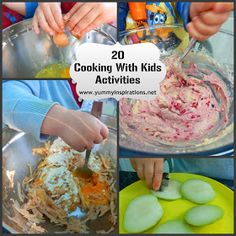 Yummy Inspirations: 20 Cooking With Kids Activities