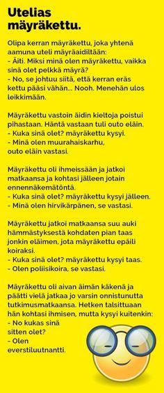 Vitsit: Utelias mäyräkettu - Kohokohta.com