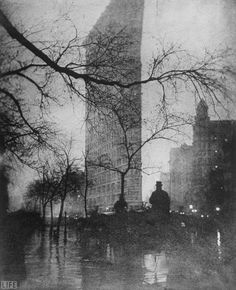 Edward Steichen, Flatiron Building, 1909. If I could only own one photo, this would be it.
