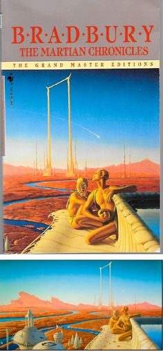 MICHAEL WHELAN - The Martian Chronicles by Ray Bradbury - 1985 Bantam Spectra - cover by abebooks