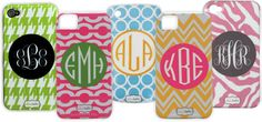 personalized phone cases!