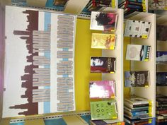 Teen Chicago book love display. doing this for summer!