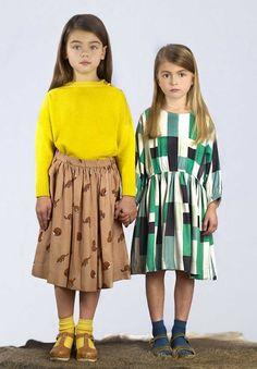 Hello! hoy abrimos el día y la semana con Hello Simone, una relativamente nueva marca de moda para niñas. Lo de relativamente lo digo...