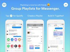 Spotify introduce le playlist di gruppo su Messenger
