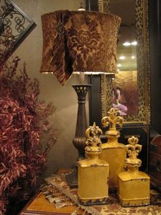 Infusion Interior Design Lakewood, WA I have the 2 larger ones and love them! Tuscan Style Decorating, Decorating Your Home, Interior Decorating, Decorating Ideas, Tuscan Style Homes, Tuscan House, Tuscan Furniture, Tuscany Decor, World Decor