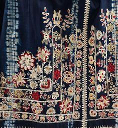 Czech Apron, fourth quarter 19th century, cotton, silk and wool