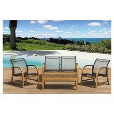 Found it at AllModern - Jersey 4 Piece Seating Group in Brownhttp://www.allmodern.com/deals-and-design-ideas/p/Clear-the-Deck%3A-Patio-Sale-Jersey-4-Piece-Seating-Group-in-Brown~IHM1359~E13761.html?refid=SBP.rBAZEVQPVc2VOAmwaWvFApeAMNFcm0ghp4gow7UAaa8