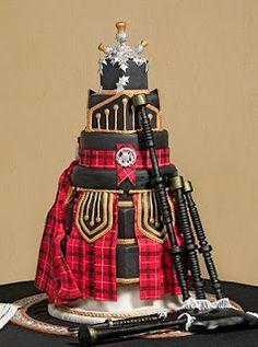 Tartan wedding cake Tartan Wedding ideas, Scottish Wedding, Tartan patterned Ideas and Inspirations. Wedding Directory-UK flannel plaid