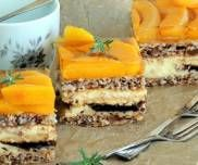 Kora dębu / Kora orzechowa Cheesecake, Food, Cheesecakes, Essen, Meals, Yemek, Cherry Cheesecake Shooters, Eten