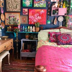 9 Simple and Creative Ideas Interior Painting Ideas White interior painting living room Painting Colors Trending interior painting techniques master Painting Modern Chairs Diy Bathroom Decor, Room Decor Bedroom, Gypsy Bedroom, Hippie Bedrooms, Bedroom Kids, Cozy Bedroom, Bedroom Colors, Small Bathroom, Palette Design